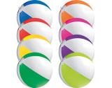 Strandball aus PVC mit einer Segmentlänge von 40 cm